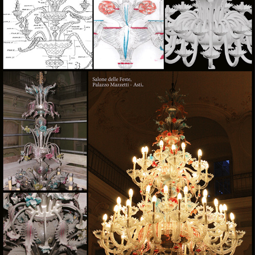 Old murano chandelier crystal chandeliers restorations repairing restoration and manteinance restauro lampadari storici e monumentali in vetro e cristallo aloadofball Image collections